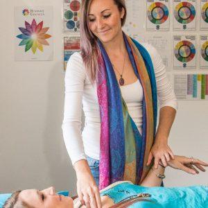 Kinesiology on a massage table